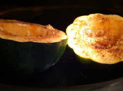 Acorn Squash Slow Cooker Style