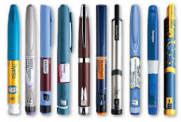 Some of the injector pens available