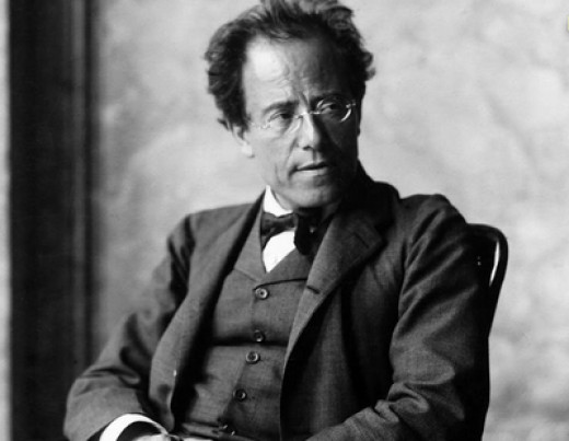 Photographic Portrait of Gustav Mahler