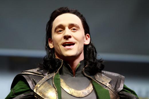 Loki (Tom Hiddleston), my favourite evil megolomaniac