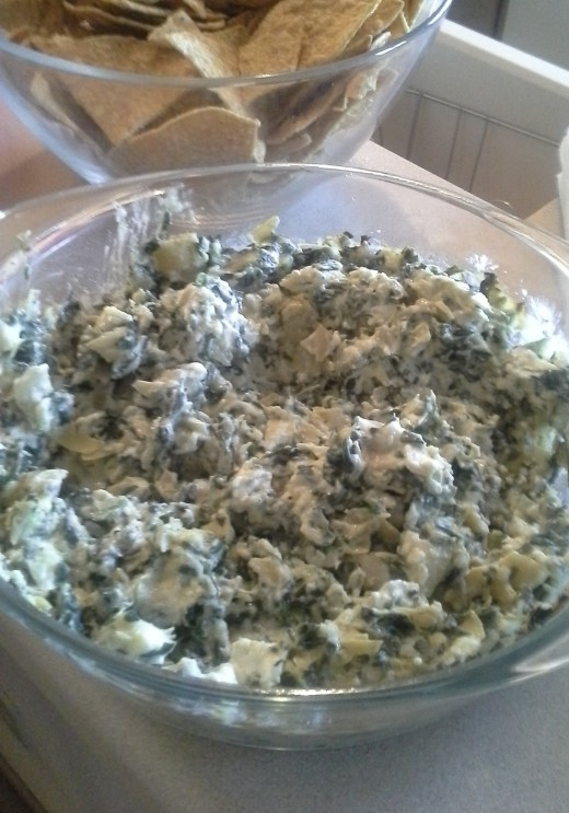Dave's Artichoke Spinach Dip