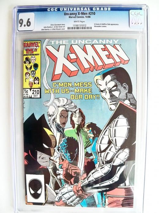 Uncanny X-Men #210 from Marvel Comics CGC 9.6