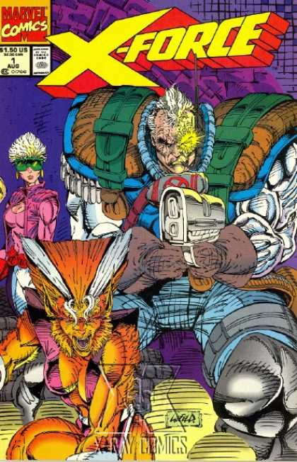 X-Force #1 (1991) from Marvel Comics. Yeah I bought all the card versions.