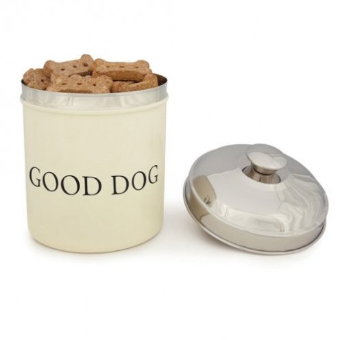 Good Dog Stainless Steel Treat Canister