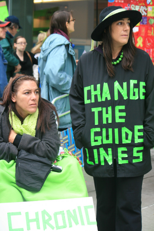 Protesting Lyme Disease