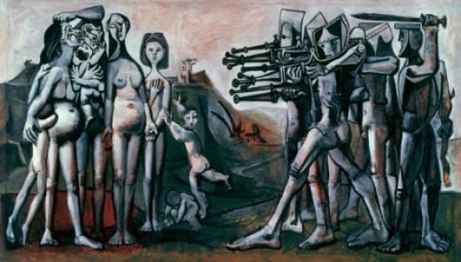 Picasso, Massacre in Korea,1951
