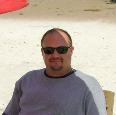 Me relaxing at No. 2 Beach