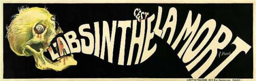 Absinthe is Death! by F. Monod, 1905