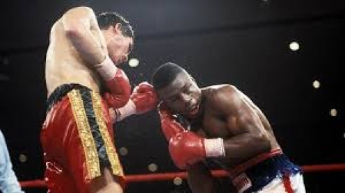 Julio Cesar Chavez had to come from behind to score a knockout win over Meldrick Taylor.