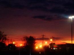 Big city lights...