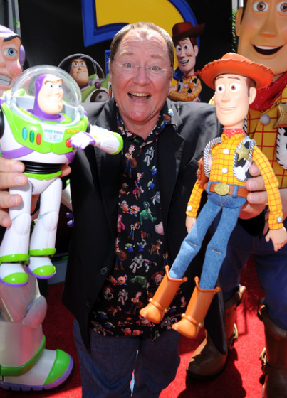 John Lasseter, co-founder of Pixar Animation and chief creative officer of both Pixar and Disney Animation.