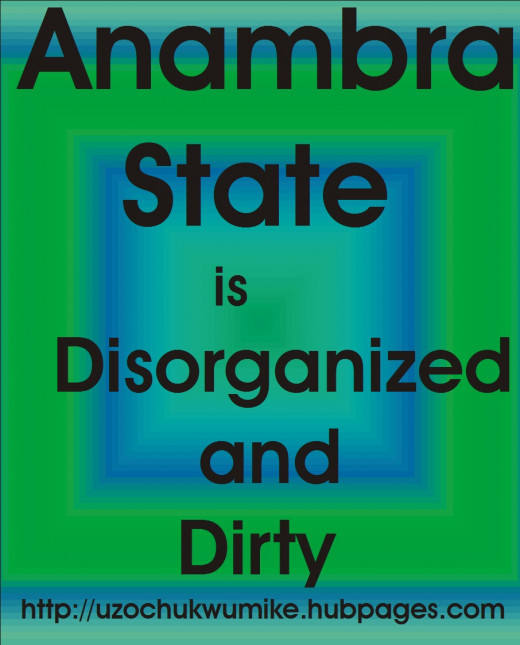 Anambra dirt and environmental challenges.