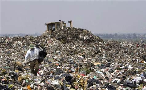 Refuse dump