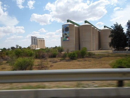 Silo's at Bothaville, Klerksdorp
