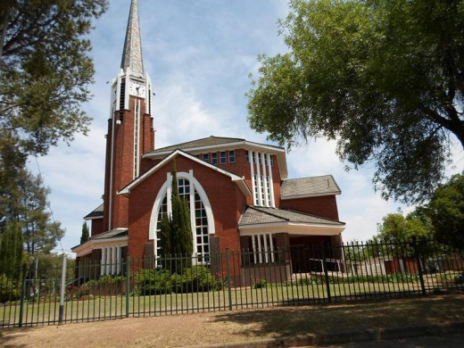Dutch Reformed Church, Noordhoek, Bloemfontein (our church in 1964-1967)
