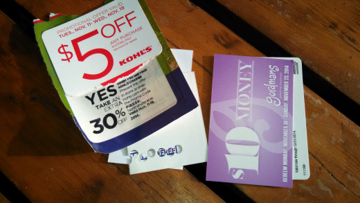 Carry your best coupons in your wallet...