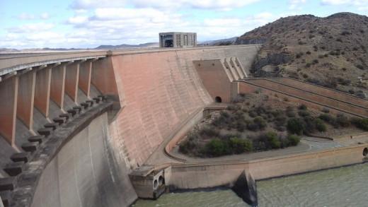 Gariep Dam. Orange Free State, South Africa