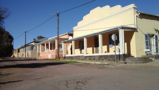 Old, renovated houses in Colesberg