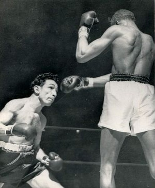 Willie Pep regained the featherweight title from the man who took it from him less than a year earlier.