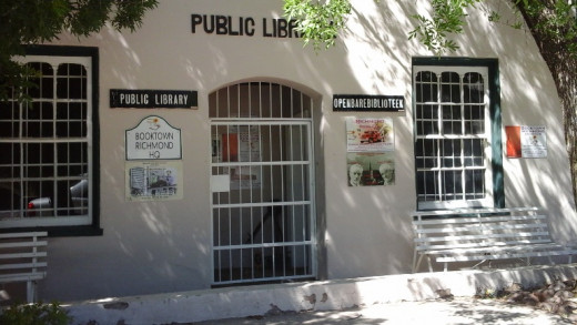 Library, Richmond, South Africa