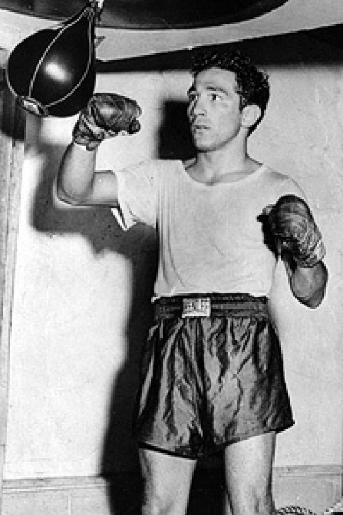 Willie Pep was one of if not the best defensive fighter in boxing history.