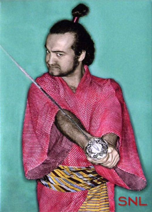 John Belushi as The Samurai!