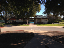 Swimming Pool Entrance at Davis Spring Park (The Trailhead)  Austin Texas