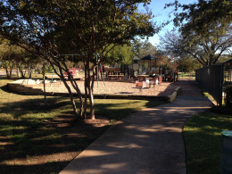 Playground at Davis Spring  Park (The Trailhead)  Austin Texas