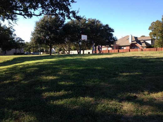 Basketball Courts at Davis Spring Park (The Trailhead)  Austin Texas