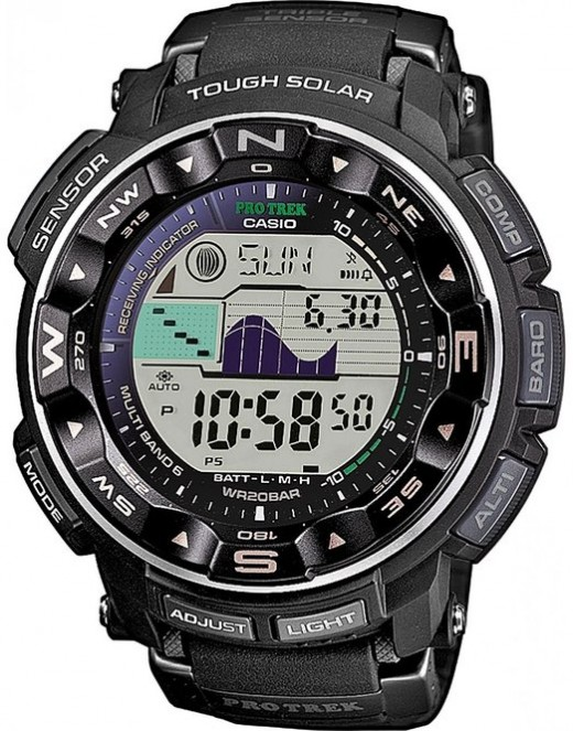 The 10 best tide watches for fishermen skyaboveus for Casio fishing watch