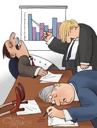 Perhaps this was what my manager was afraid of when he were to meet his clients! (He was quite boring when it comes to presentations)