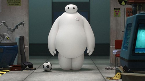 Baymax, huggable star of Big Hero 6