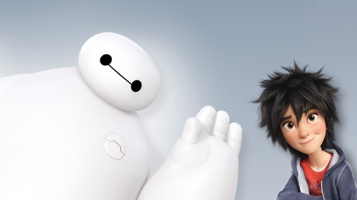 Baymax and Hiro, stars of Disney's Big Hero 6.