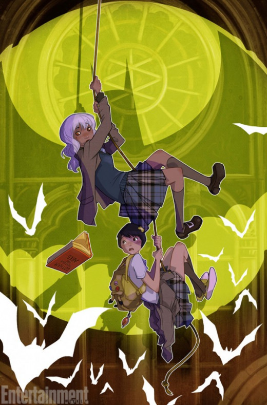 Gotham Academy: mysterious hijinks at Gotham's own Hogwarts.