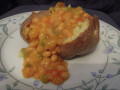 Vegan Spicy Dahl Jacket Potato Filling (Dairy and Gluten Free Recipe)