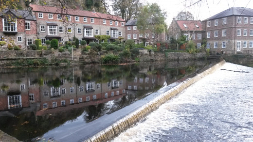 The Weir at Knaresborough