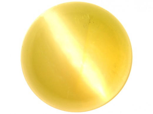 "Cymophane, or ""Cat's Eye,"" is said to clear away obstacles."