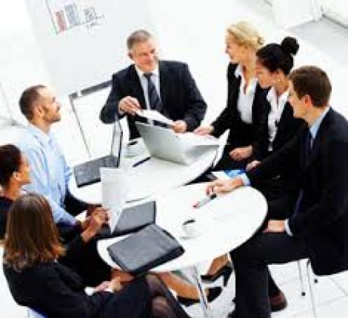 Some big corporate meetings have meetings inside the big meetings