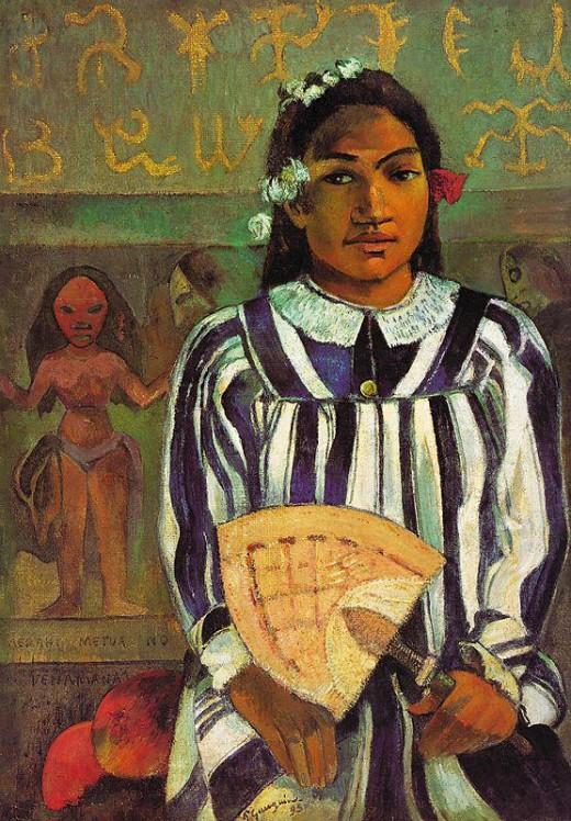 Merahi metua no Tehamana (Tehamana has many ancestors) (1893)