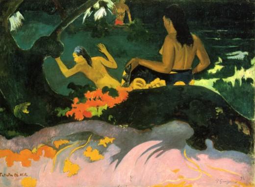 Fatata te miti (By the Sea) (1892)