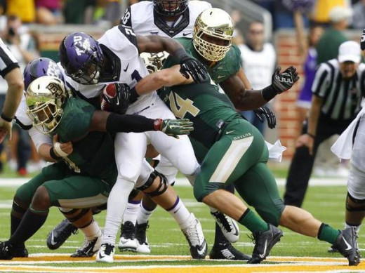 The Horned Frogs loss in Waco may not hurt them in the end.