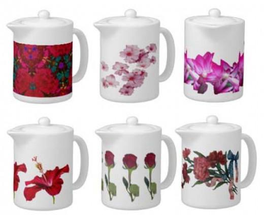 zazzle.com/sandyspider*/teapots