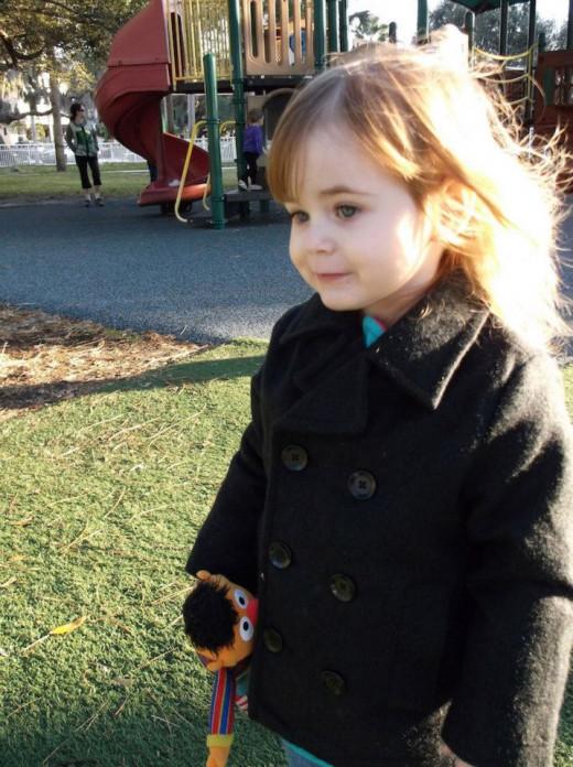 An allegorical child named Hope