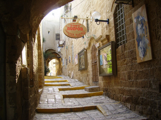 Old Yaffa is one of Israel's major tourist attractions, but it's not a tourist trap.