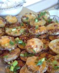 Easy Baked Potato Skins