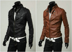 Designer leather jackets presented by renowned designer houses this season