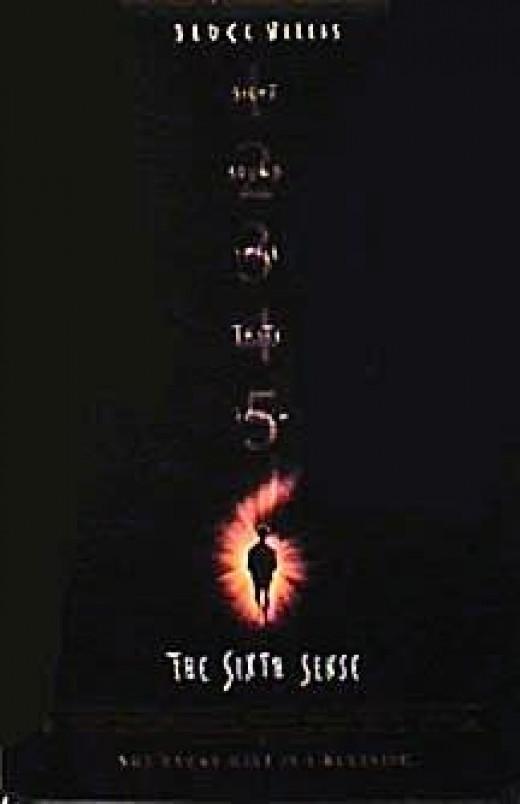 The Sixth Sense movie poster