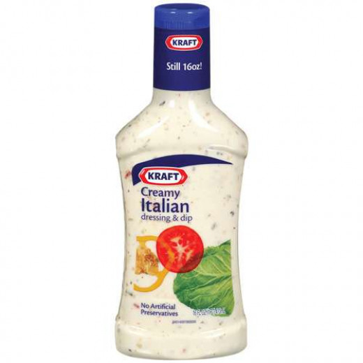 Kraft Creamy Italian Dressing
