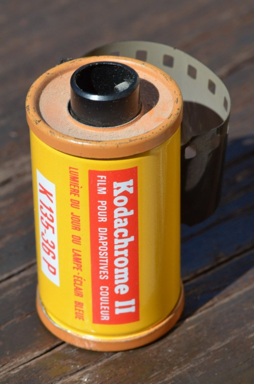 Kodachrome 25 favored by professional photographers  for low grain, rich details and color