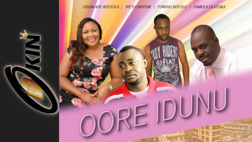 Oore Idunu Yoruba movie promotional poster.